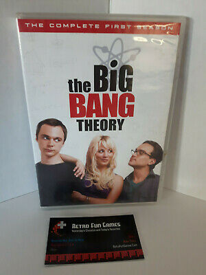 Big Bang Theory  The Complete First Season 1 DVD