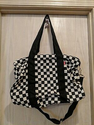 c2273d0291 VANS CHECKERBOARD CHECKERED Duffle Bag 12