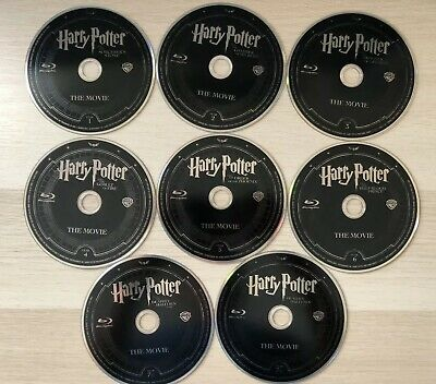 Harry Potter: Complete 8-Film Collection Blu-ray 8-Discs From Steelbooks