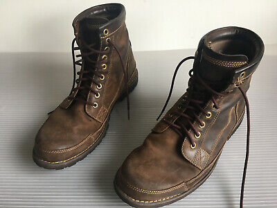 5f5ed7f3fb5 Timberland Casuals Men's Dark Brown 15550 Earthkeepers Rugged Work Boots Sz  11.5