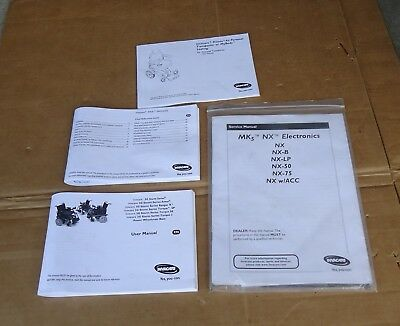 NEW invacare power wheelchair user manual guide proto,storm series,MKs,NX