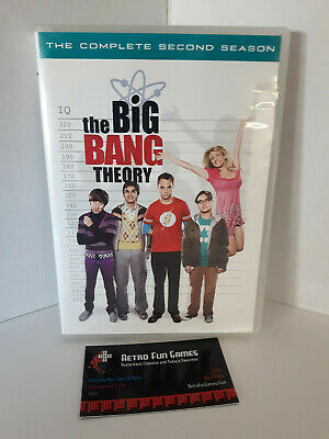 The Big Bang Theory The Complete Second Season 2 DVD