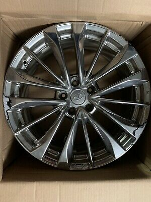INFINITI 19 Inch OEM Chrome Staggered Wheels