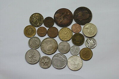 World Coins Useful Lot With Silver A99 Szc10