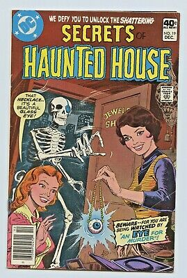 1979 Dc Comics Secrets Of Haunted House #19 Fine Plus - Large Scans !!