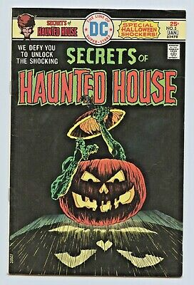 1975 Dc Comics Secrets Of Haunted House #5 Fine Plus - Large Scans !!