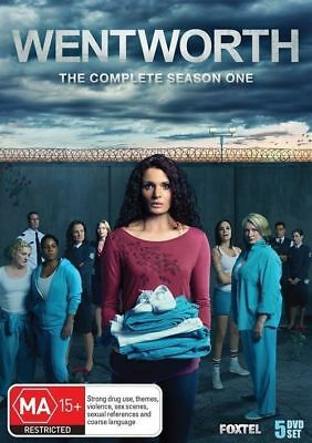 Wentworth (Complete Season 1 - Dvd Set Sealed + Free Post)