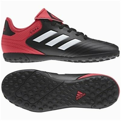 detailed look e3777 48eb1 Adidas Copa Tango 18.4 Tf Youth Soccer Turf Shoes Cp9064 Black Coral Size  4.5