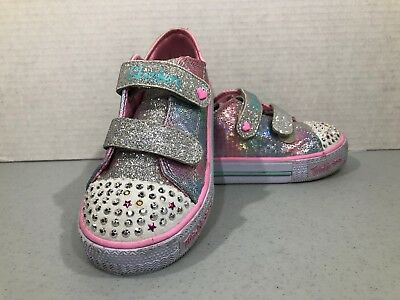 Skechers Light Up Shoes Toddler Girl