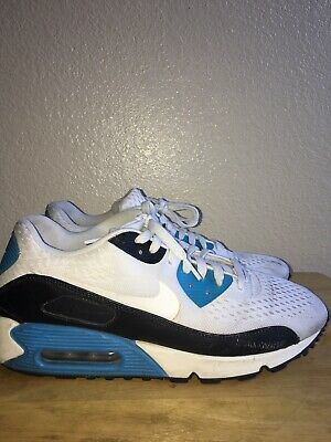 new product 3bbef 2c613 Nike Air Max 90 EM Laser Blue Sz 11 554719 114 Engineered Mesh PreOwned No  Box