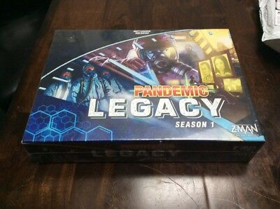Pandemic Legacy Season 1 Zman Games