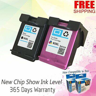 63XL 63 XL Ink Cartridge For HP Deskjet 1110 1112 2130 2132 3630 3632 3634 3636