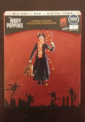 Mary Poppins Steelbook (Blu-ray/DVD 2-Disc Set)