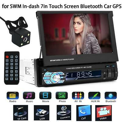 7'' 1080P HD MP5 MP3 Touch Screen Bluetooth FM Player Car 1 DIN Stereo Radio