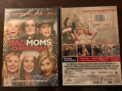 A Bad Moms Christmas DVD. Brand New. Free Shipping.