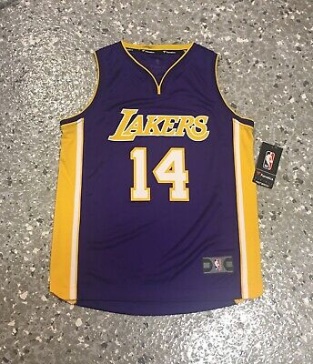 5b382400c Brandon Ingram Los Angeles Lakers Purple Fanatics Youth Replica Jersey NWT
