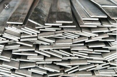 "3/16""×2"" A36 Hot Roll Steel Flat Bar 5 Pcs 12"" Lengths weldable"