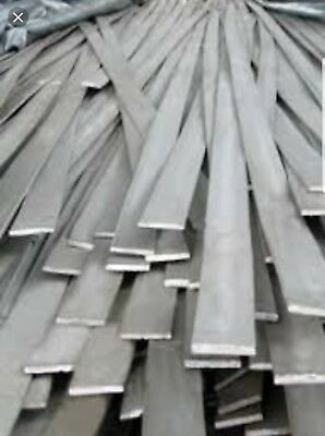"1/4""×1"" A36 .250 Hot Roll Steel Flat Bar  5 Pcs 12"" Lengths"