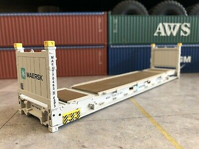 1/50 Scale 40' Flat Rack MAERSK