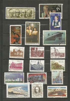 South Africa 9253083 Fine Used / Cance Transkei 1a X-17a X complete Issue