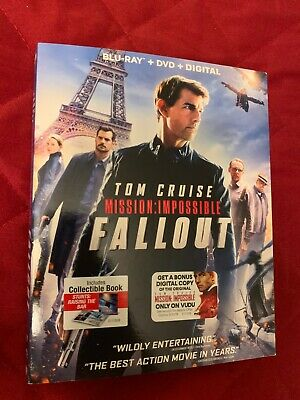 Mission Impossible: Fallout (Blu-Ray+DVD+Digital)