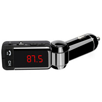 Wireless Bluetooth Handsfree Car Kit FM Transmitter MP3 Player LCD USB Charger