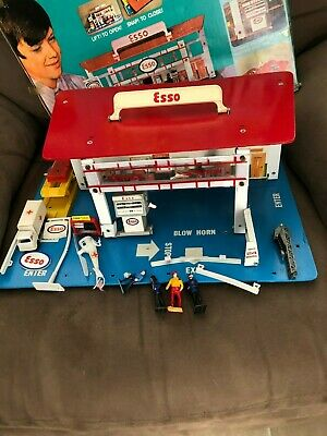 Rare Fold- Up Esso Service Station with Box