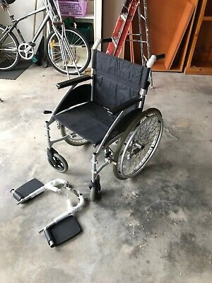 wheel chair - foldable, used once only