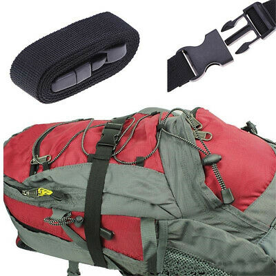 Security Safety Outdoor Travel Luggage Tie Down Nylon Lock Belt Buckle Straps