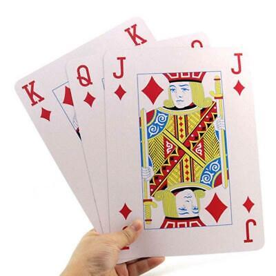Funny JUMBO PLAYING CARDS GIANT Deck Poker Large Huge Family Party Play Game