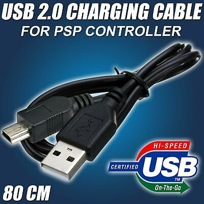 USB Charger Cable Lead for Sony PS3 Controller PSP Charging Play Station 3 80cm