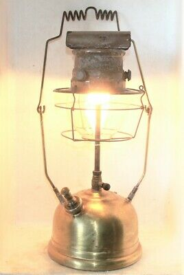 Vintage Tilley PL53 kerosene lamp, as found condition, new seals fitted, burning
