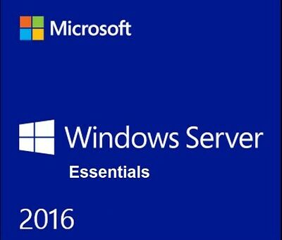 Microsoft Windows Server 2016 Essentials 64Bit