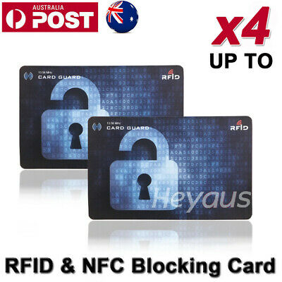 RFID & NFC Blocking Secure Wallets Credit Card ID Protector Anti Scan Safet OZ