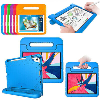 For Apple iPad 9.7 Pro 12.9 Shockproof Case Kids Friendly Cover w Handle Stand