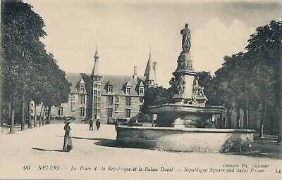 CPA - France - (58) Nièvre - Nevers - La Place de la République