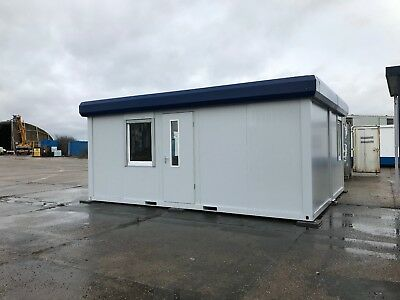 Modular Building, Site Office, Portable Building 6.05m x 4.8m (1716)