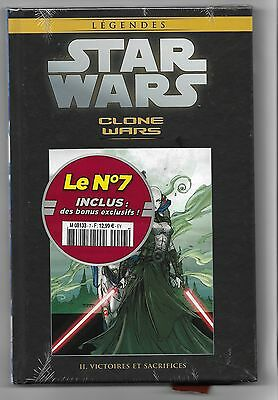 STAR WARS -CLONES WARS - II. VICTOIRES ET SACRIFICES -  hachette collection