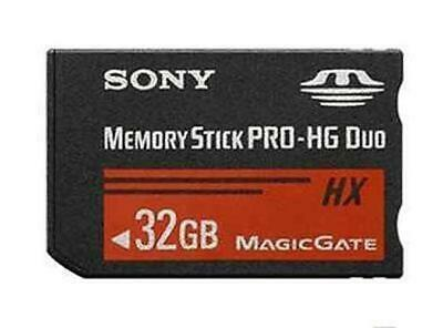 32GB Memory Stick MS PRO-HG Duo HX MagicGate MS Card adapter For SONY PSP Camera