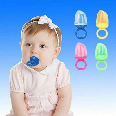 Baby Dummy Pacifier Fruit Food Veg Feeder Feeding Nibbles Weaning Gift Style