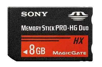 8GB Memory Stick MS PRO-HG Duo HX MagicGate MS Card adapter For SONY PSP Camera
