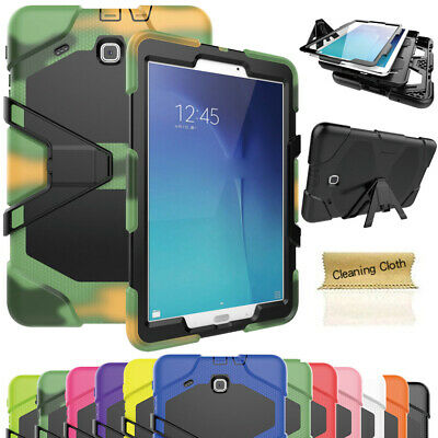 For Samsung Tab 3 4 A E S2 7.0 8.0 9.6 9.7 10.1 Shockproof Armor Kids Case Cover