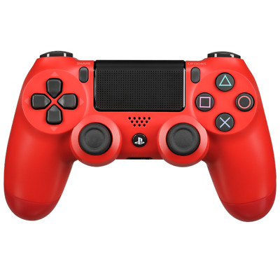 Sony PlayStation Dualshock 4 Controller v2 Red quality Silver