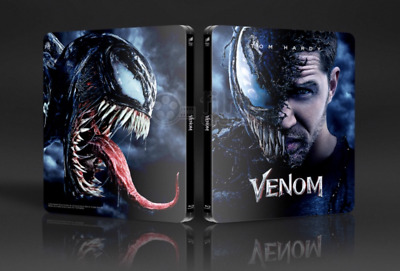VENOM 3D Steelbook 3d bluray Filmarena WEA Only 500 copies + Marvel Art Cards