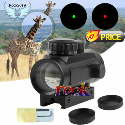 Tactical Holographic Sight Green Red Dot Sight Scope 1x40mm Cross Riflescope