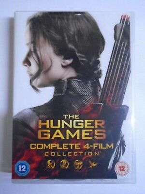 The Hunger Games: Complete 4-Film Collection - [DVD, 2016 ] VG G2