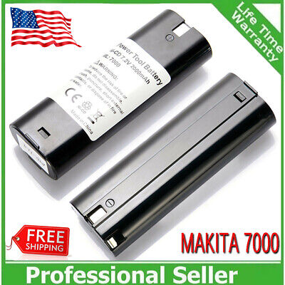 2x 2000mAh 7.2VOLT Battery for MAKITA 7000 7002 7033 632003-2 192532-2 NiCd Tool