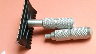 Russian Double Edge Safety Razor OPEN COMB Metal Ultra-compact Vintage BOX