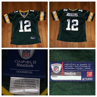 low priced c8ddc b1448 NFL REEBOK GREEN Bay Packers AARON RODGERS Jersey Stitched ...