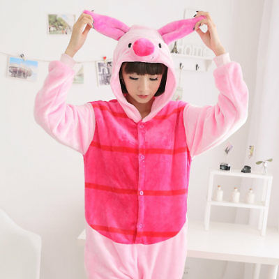 Adult/Children Animal Piglet Cosplay Pajamas Kigurumi Unisex Costume Sleepwear